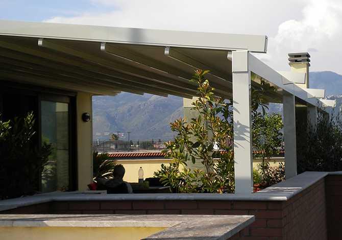 Pergotende in alluminio Vasto San Salvo Termoli Isernia Campobasso - Rivenditore KE Abruzzo