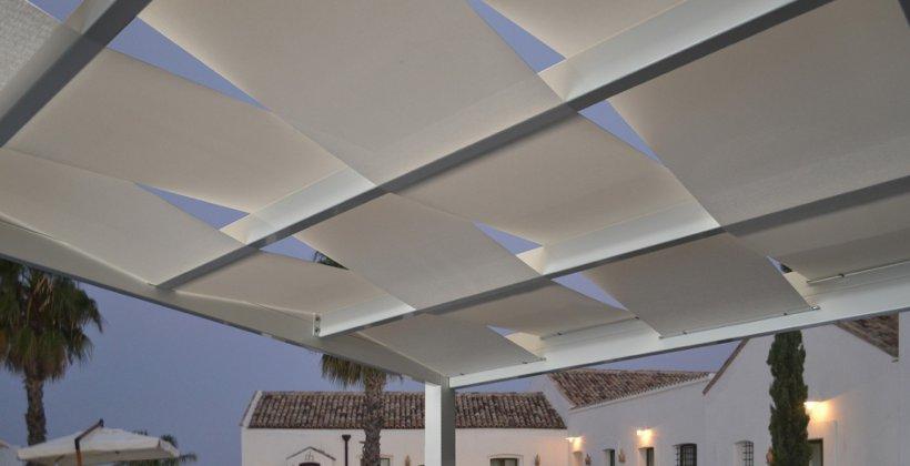 Coperture per esterni frangisole tettoie per giardini e terrazzi Programma Eclissi a Vasto San Salvo Abruzzo Termoli Isernia